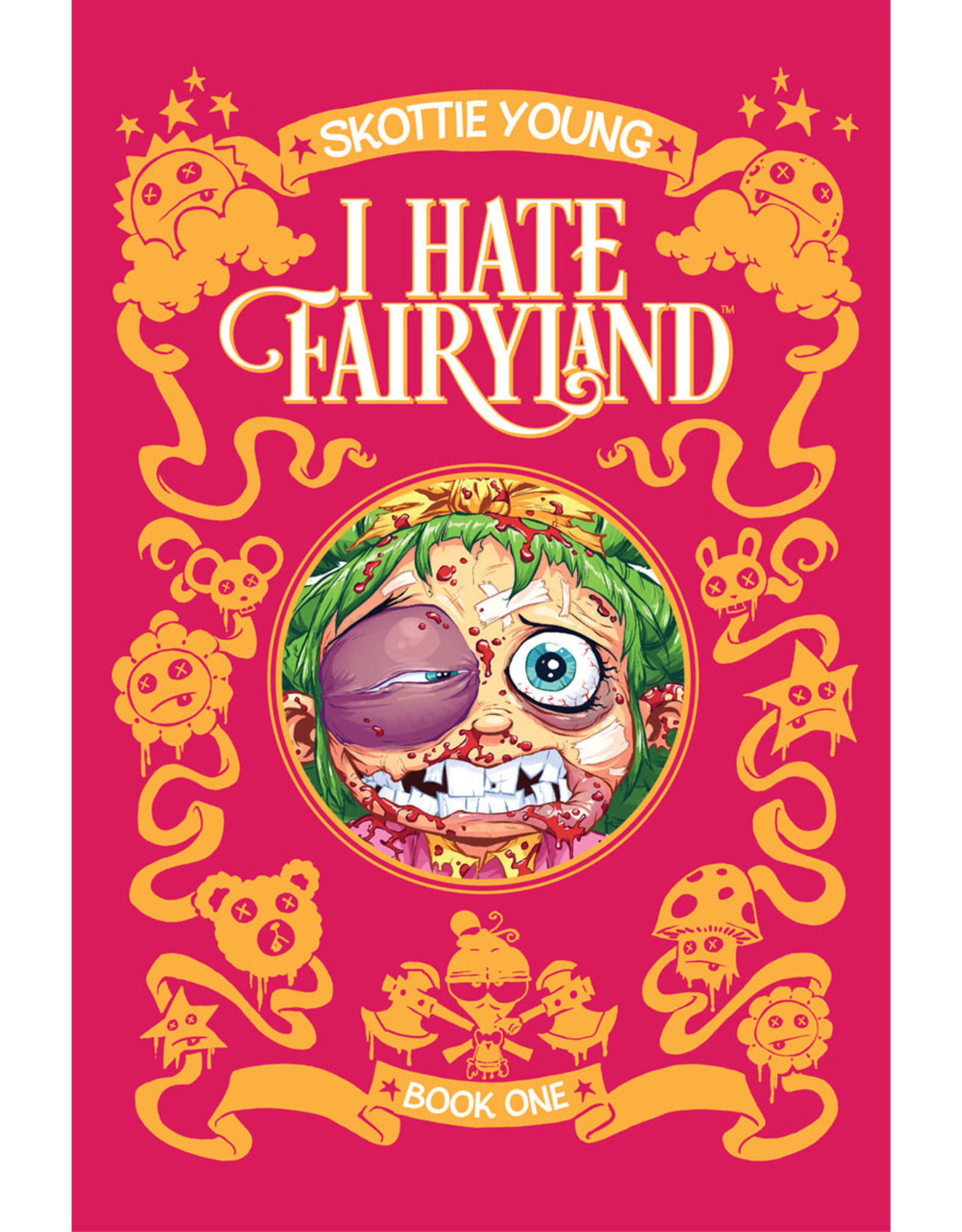 IMAGE COMICS I HATE FAIRYLAND DLX HC VOL 01