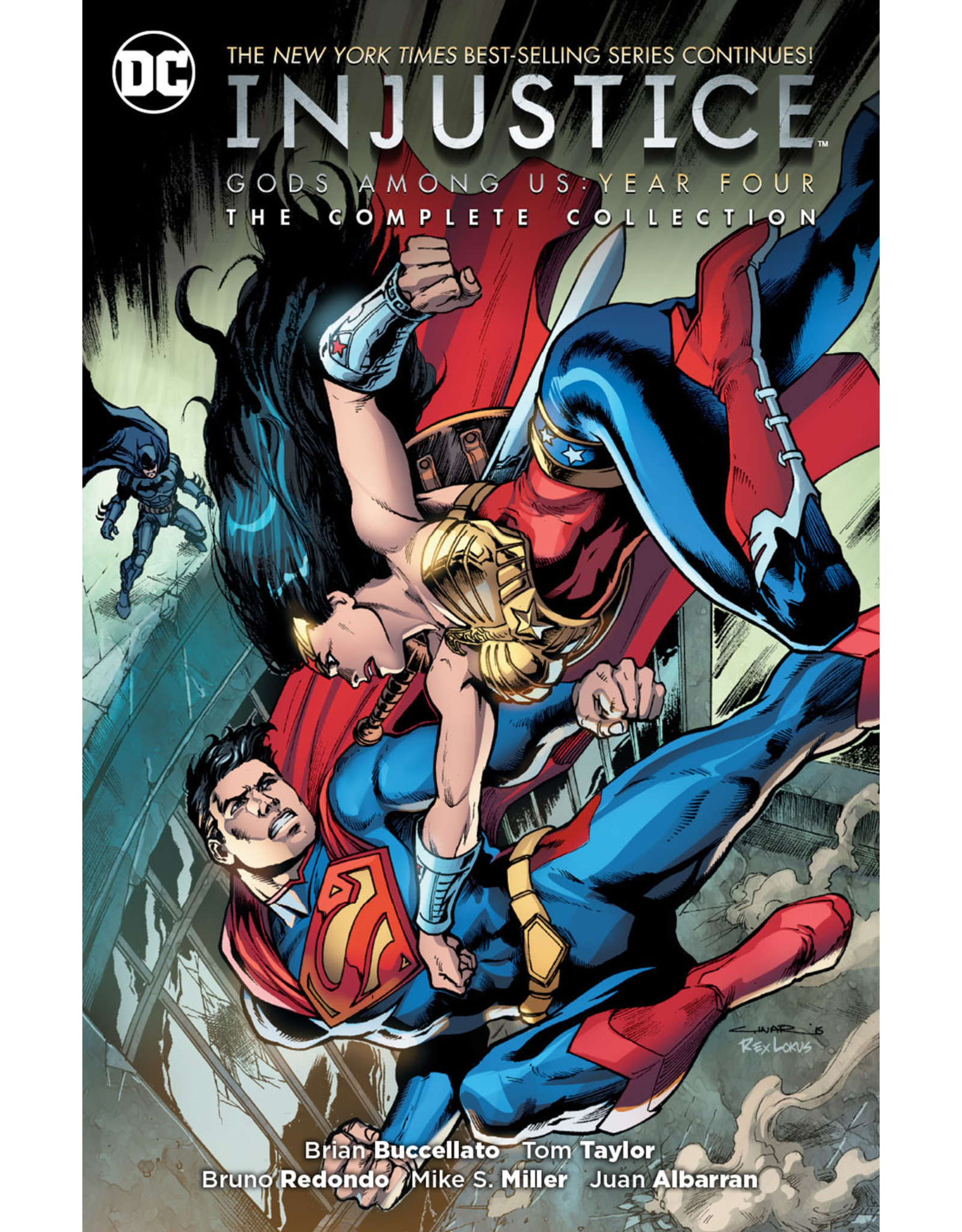 DC COMICS INJUSTICE GODS AMONG US YEAR FOUR COMPLETE COLL TP