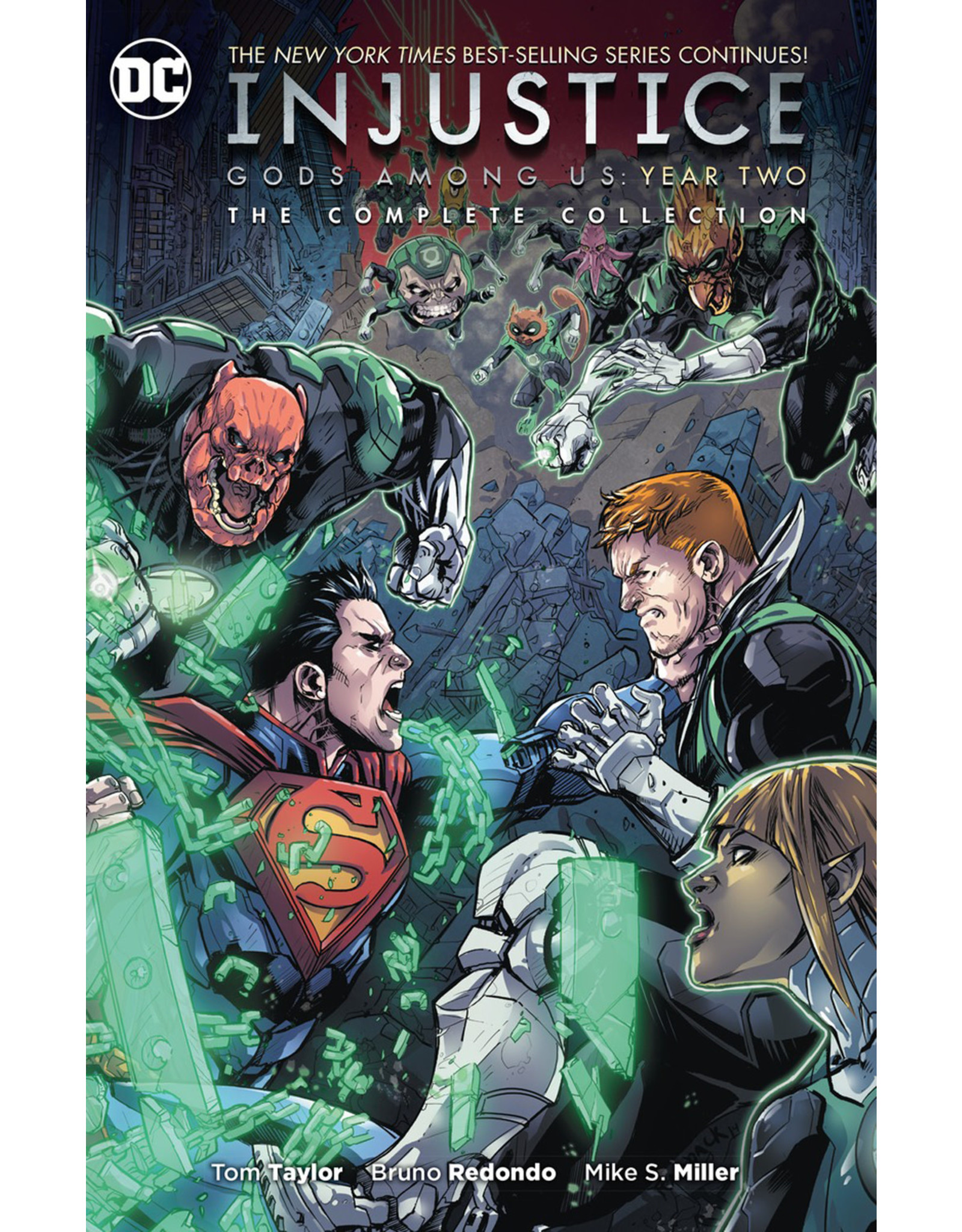 DC COMICS INJUSTICE GODS AMONG US YEAR TWO COMPLETE COLL TP