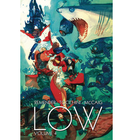IMAGE COMICS LOW TP VOL 04 OUTER ASPECTS OF INNER ATTITUDES