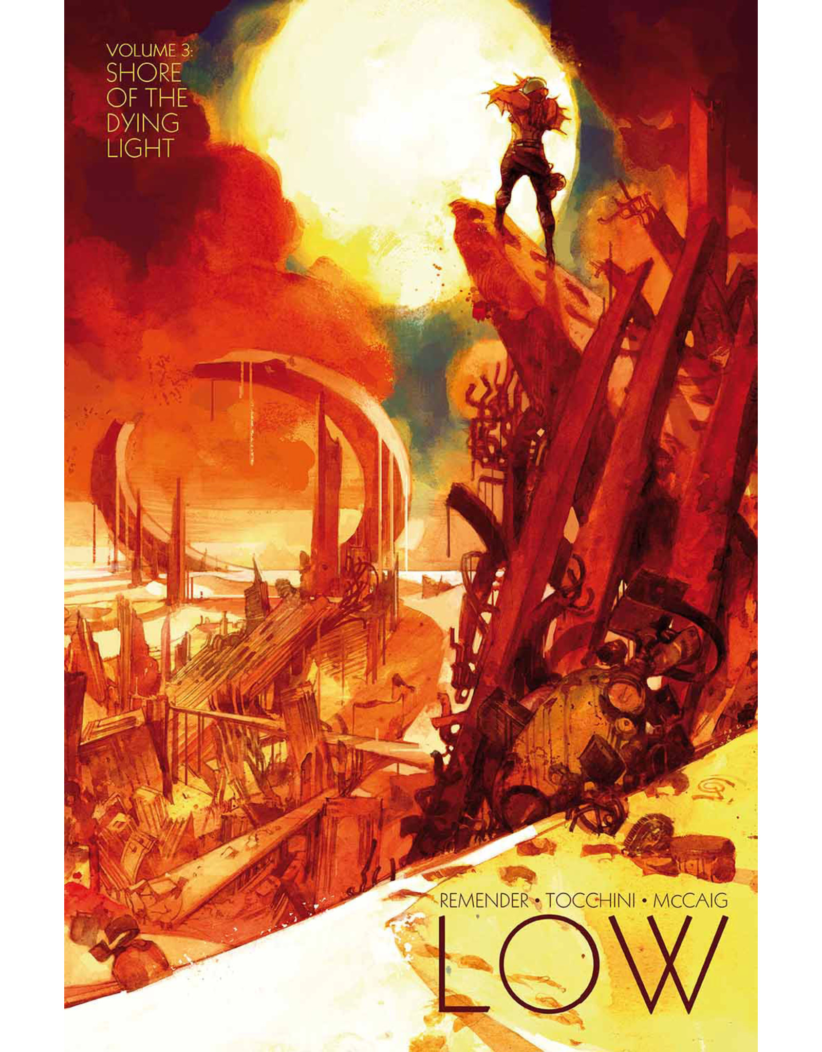 IMAGE COMICS LOW TP VOL 03 SHORE OF THE DYING LIGHT