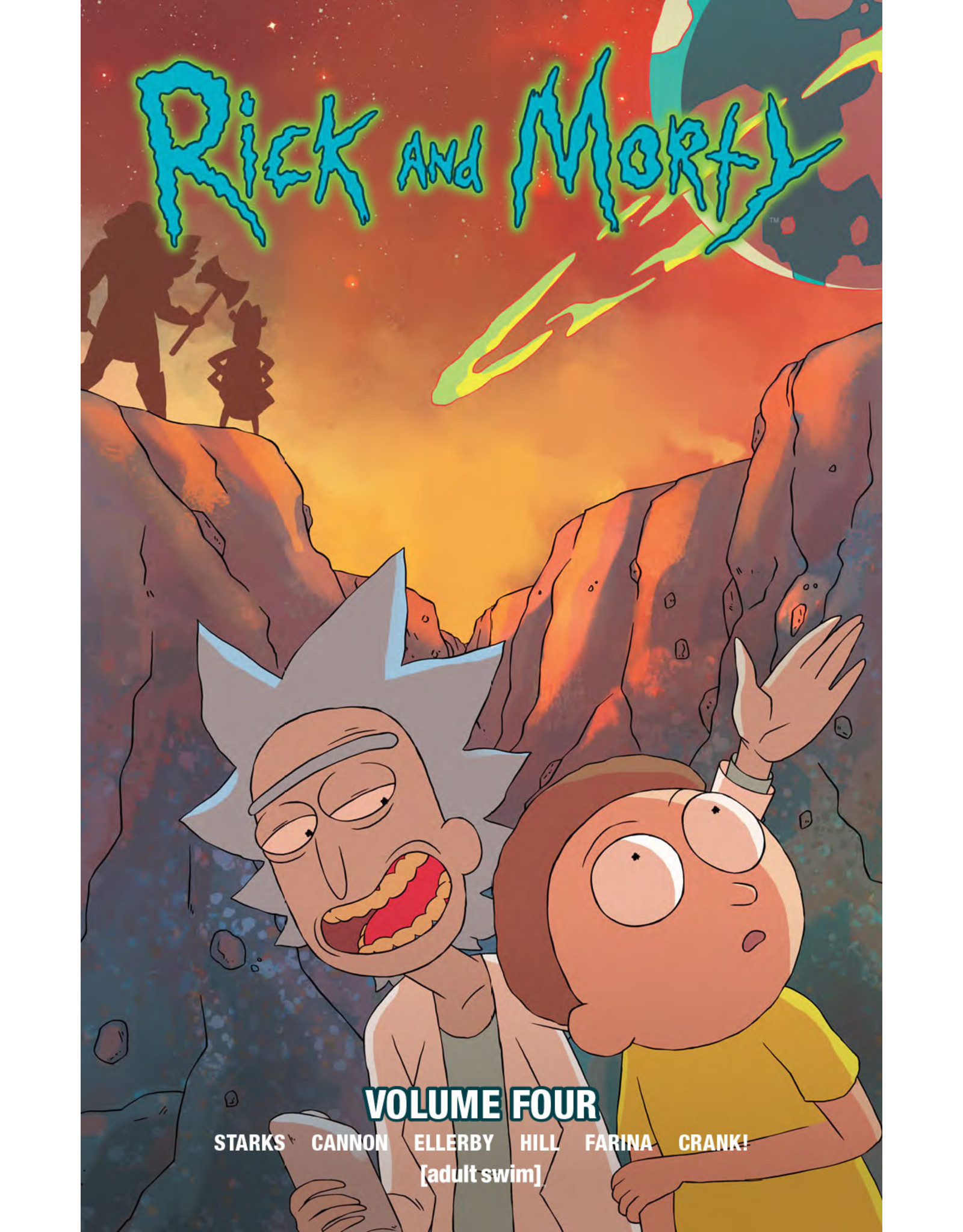 ONI PRESS INC. RICK & MORTY TP VOL 04