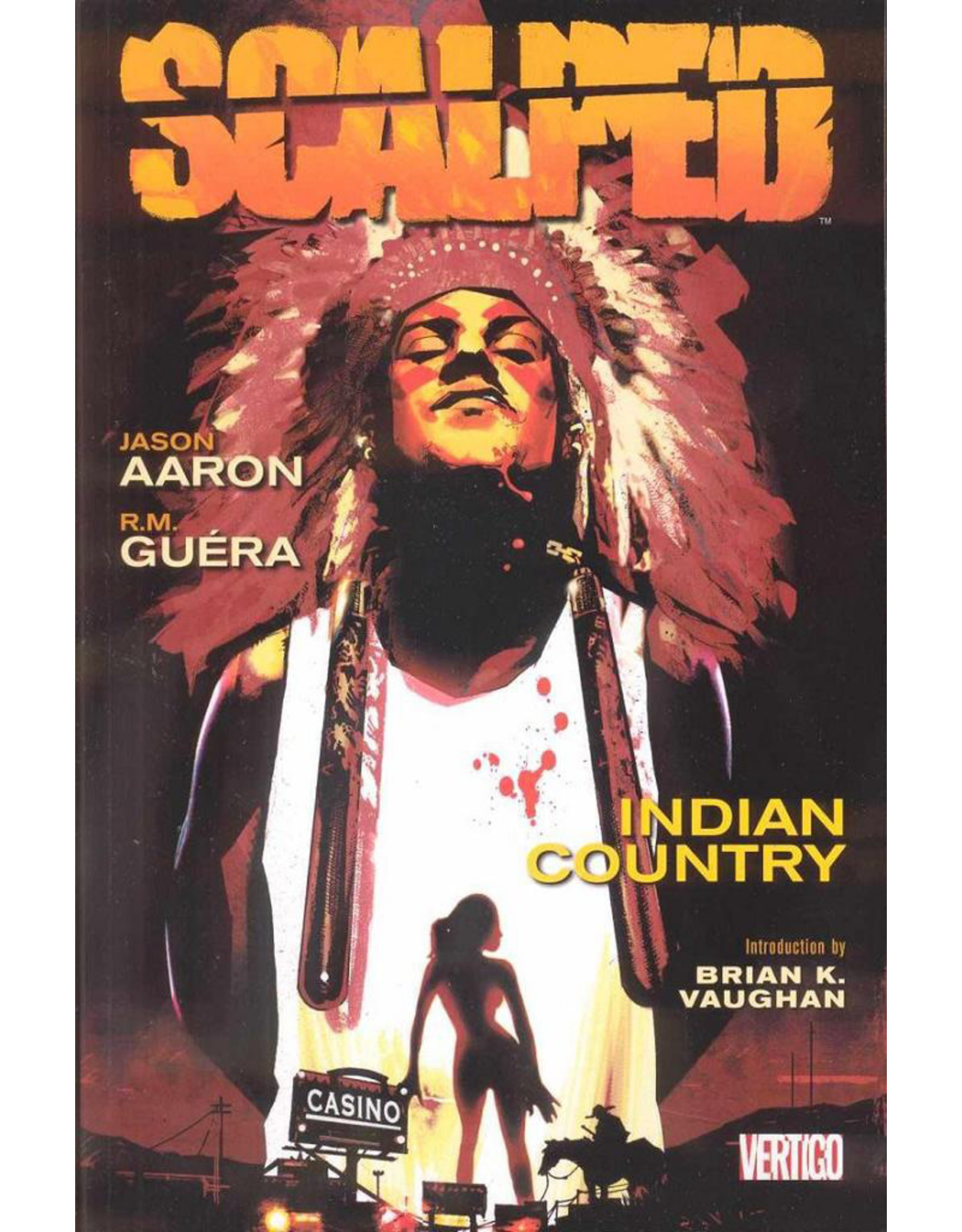 DC COMICS SCALPED TP VOL 01 INDIAN COUNTRY