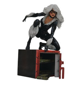 DIAMOND SELECT TOYS LLC MARVEL GALLERY BLACK CAT COMIC PVC FIGURE