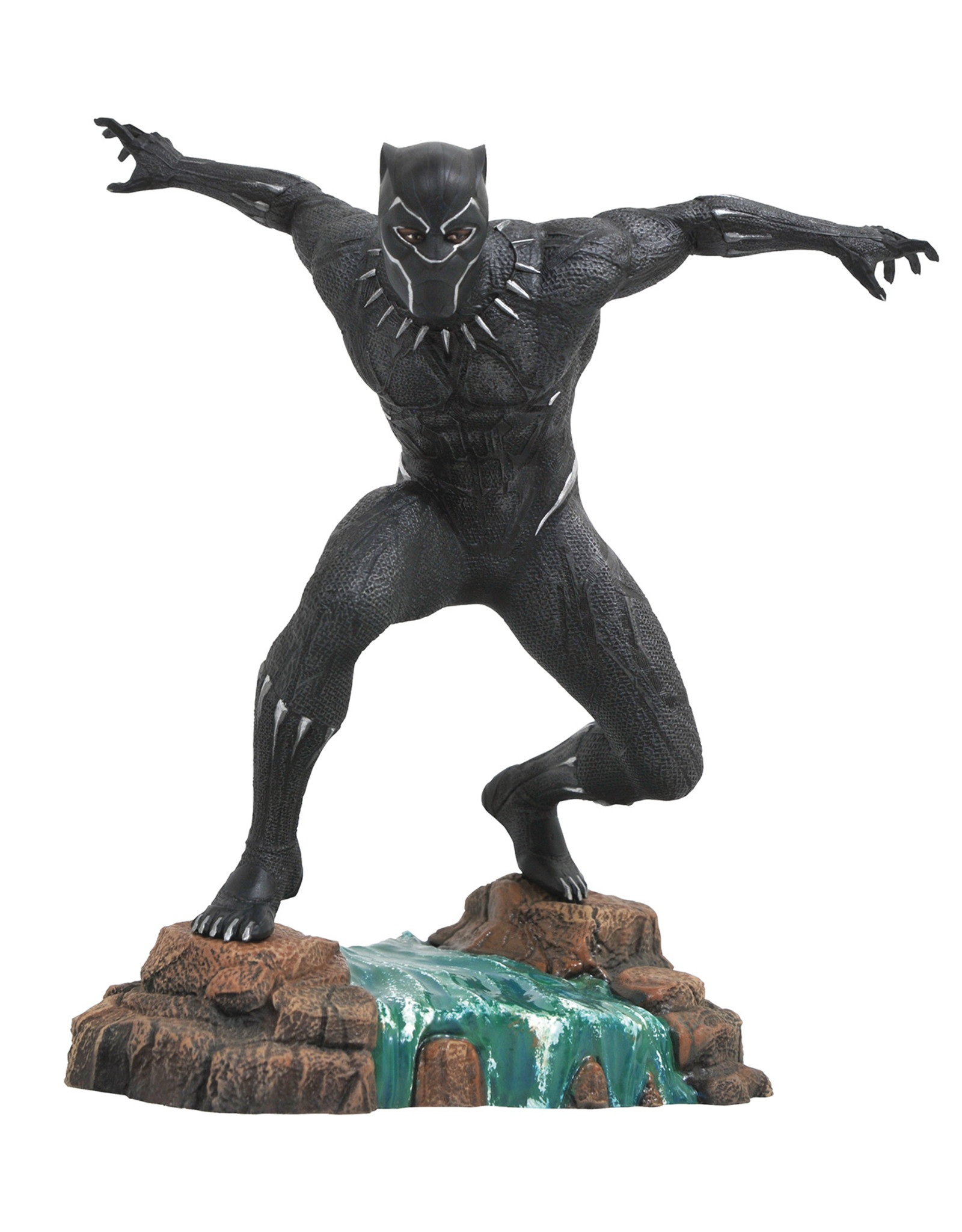 DIAMOND SELECT TOYS LLC MARVEL GALLERY BLACK PANTHER MOVIE PVC FIGURE