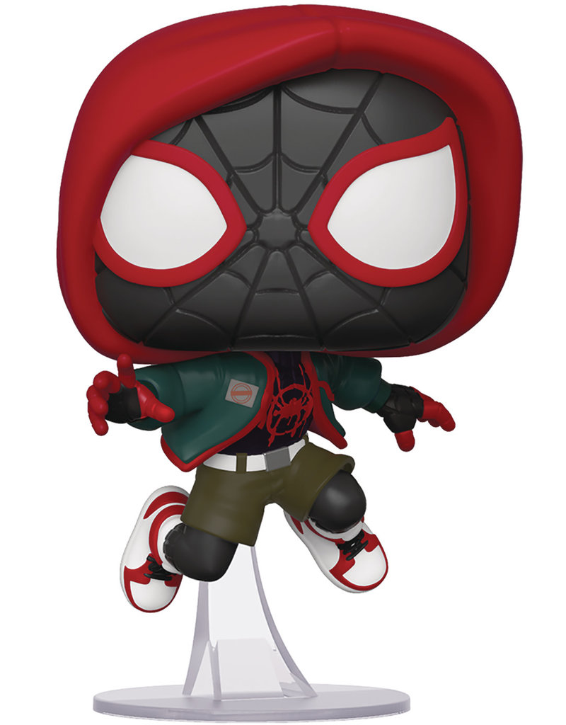 FUNKO POP MARVEL INTO SPIDERVERSE CASUAL MILES MORALES PX VIN FIG