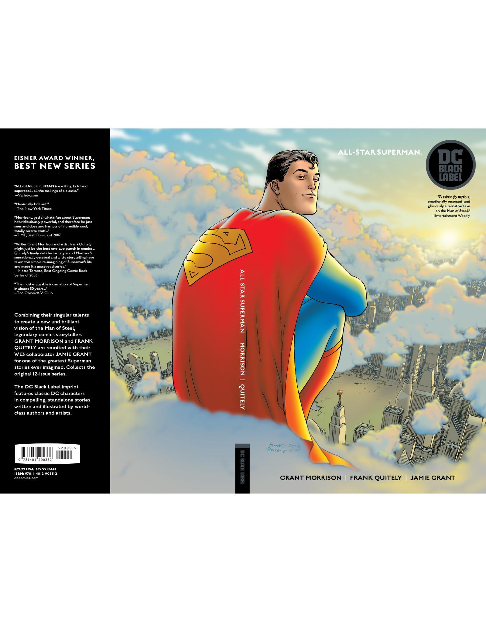 DC COMICS ALL STAR SUPERMAN TP BLACK LABEL