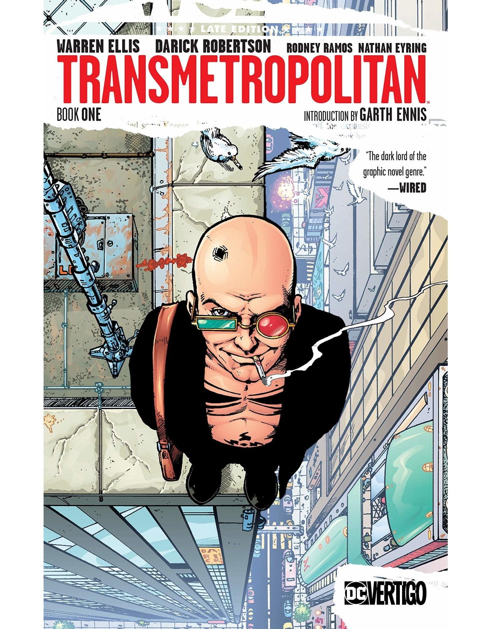 DC COMICS TRANSMETROPOLITAN TP BOOK 01