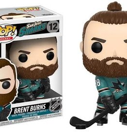FUNKO POP NHL SAN JOSE SHARKS BRENT BURNS VINYL FIG