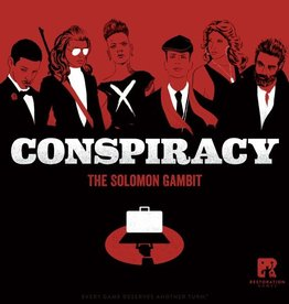 RESTORATION GAMES CONSPIRACY THE SOLOMON GAMBIT
