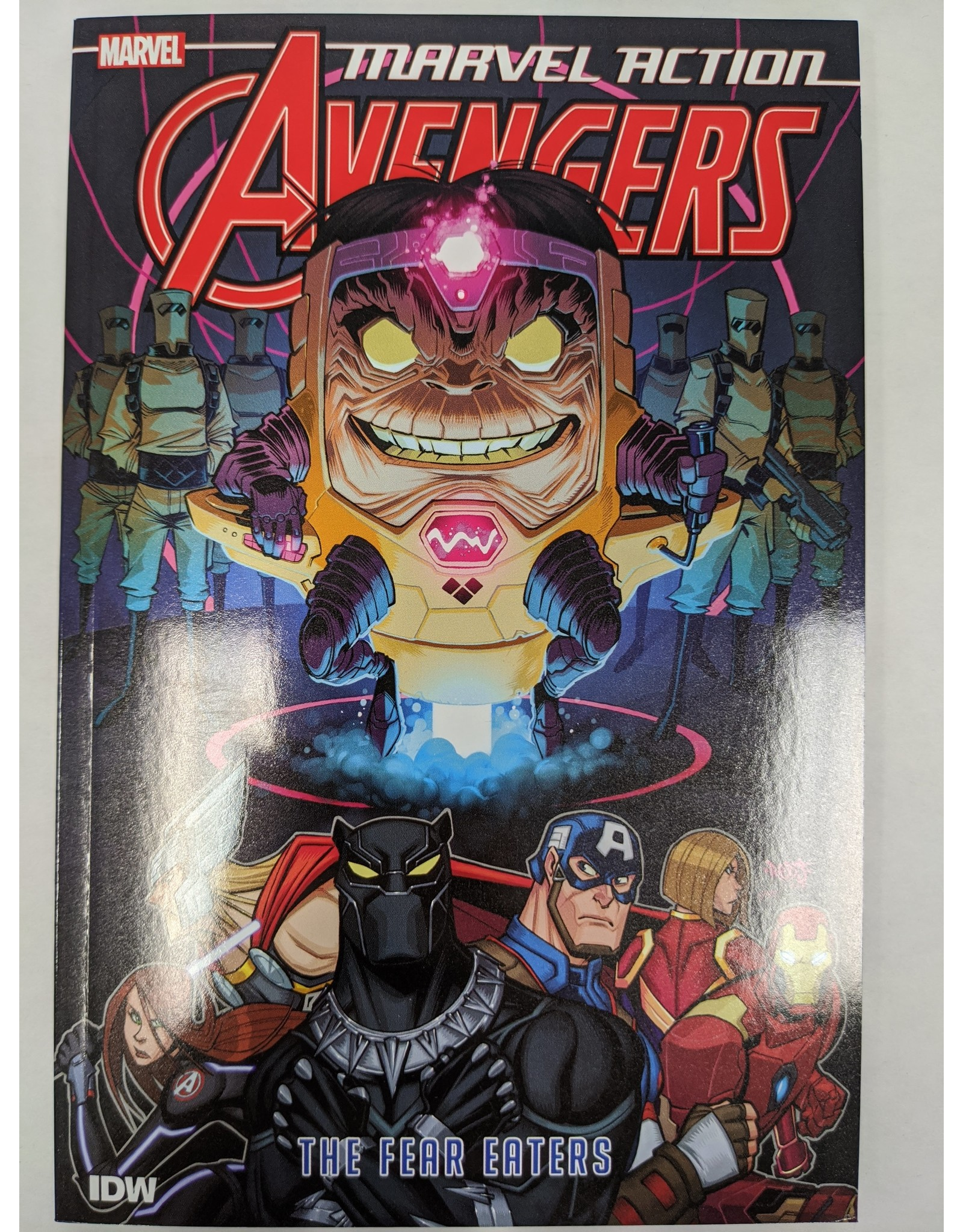 IDW PUBLISHING MARVEL ACTION AVENGERS TP BOOK 03 THE FEAR EATERS