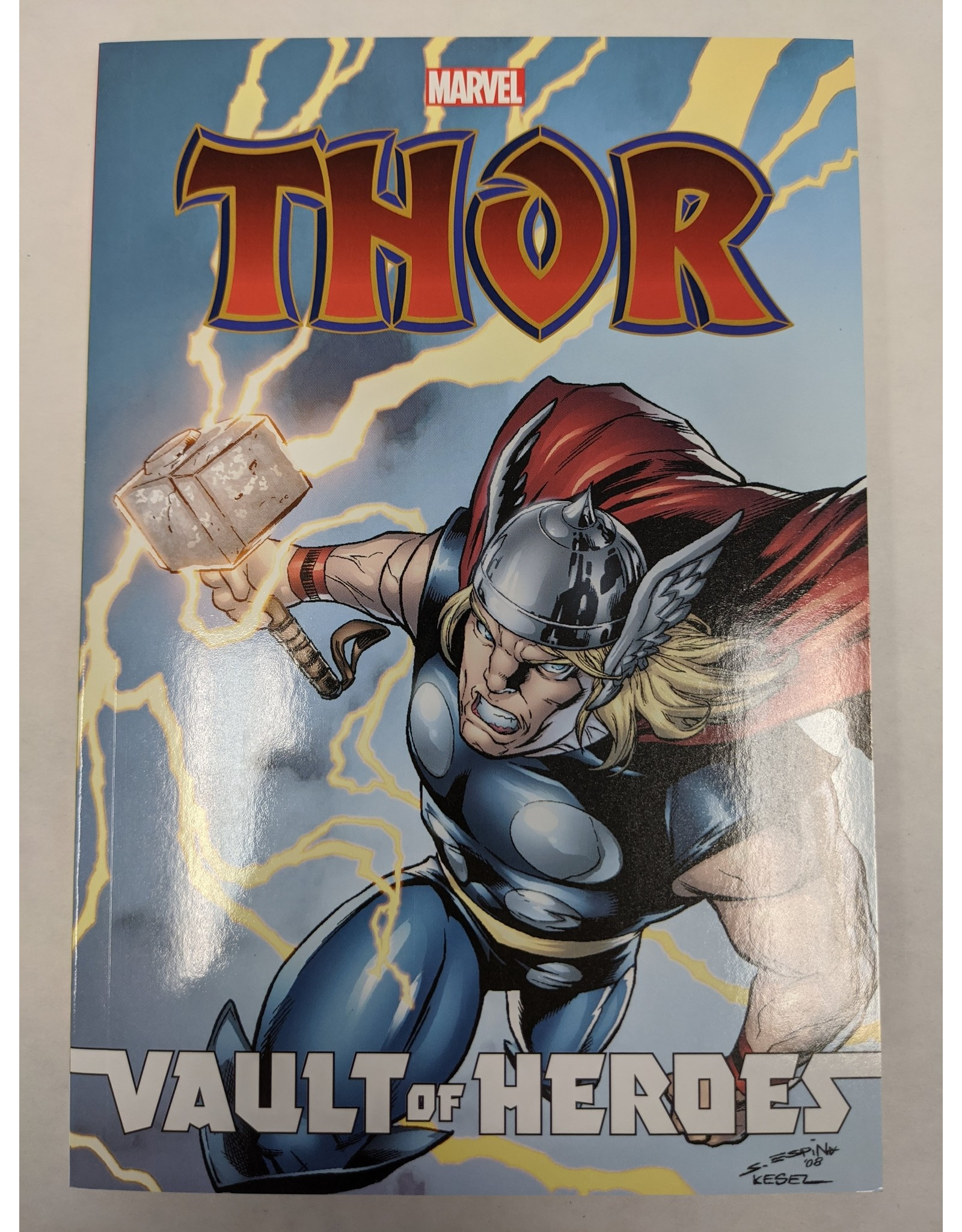 IDW PUBLISHING MARVEL VAULT OF HEROES THOR TP VOL 01