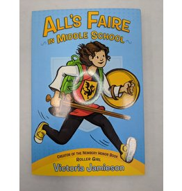 DIAL BOOKS ALLS FAIRE IN MIDDLE SCHOOL GN