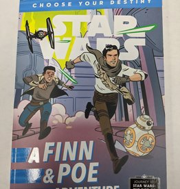 DISNEY LUCASFILM PRESS STAR WARS FINN & POE ADV CHOOSE YOUR DESTINY SC