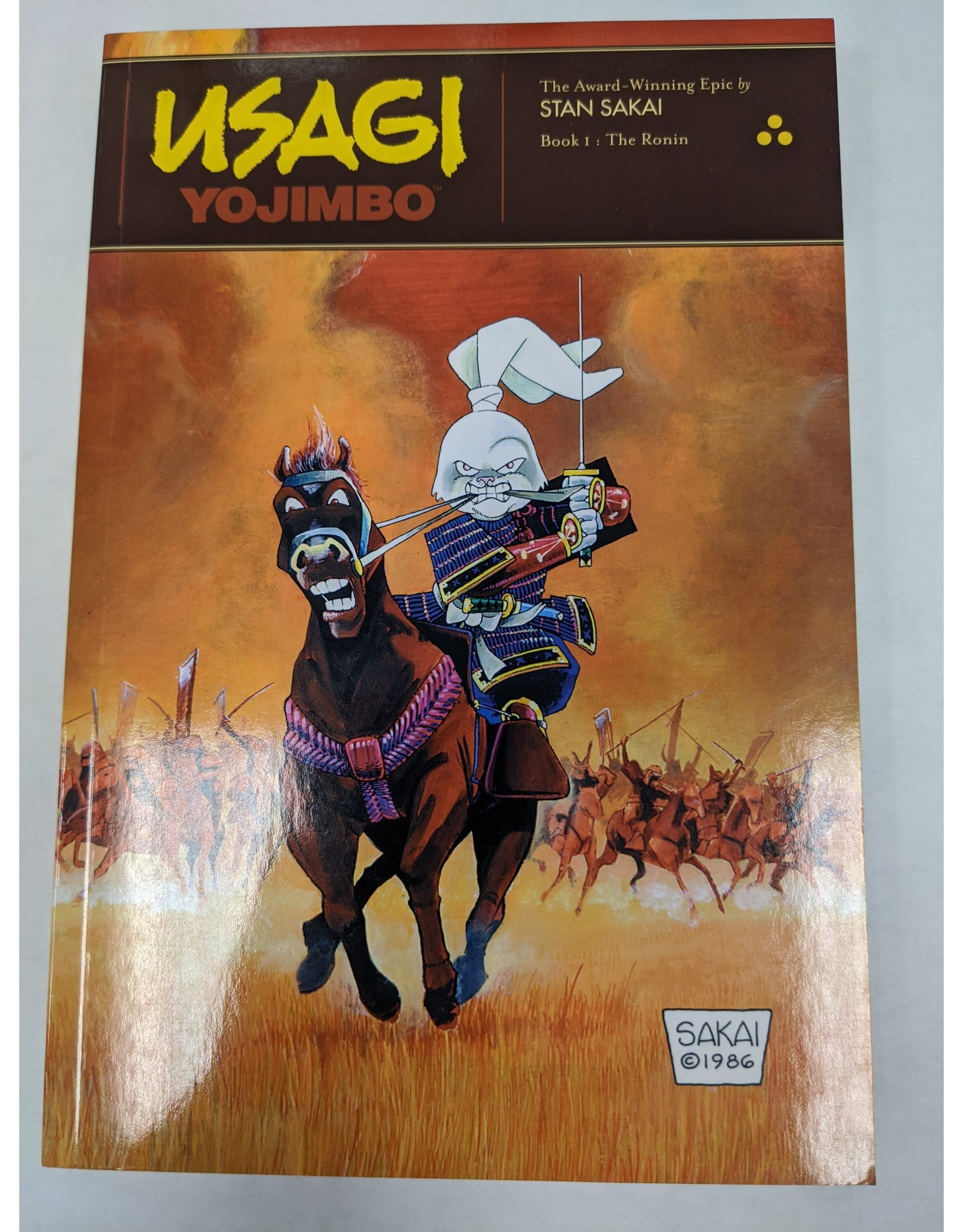 FANTAGRAPHICS BOOKS USAGI YOJIMBO TP VOL 01 RONIN