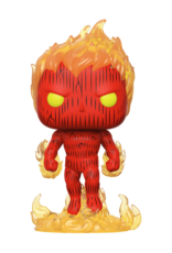 FUNKO POP MARVEL FANTASTIC FOUR HUMAN TORCH VINYL FIG