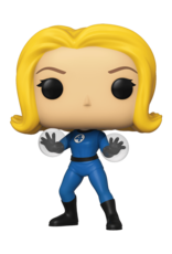 FUNKO POP MARVEL FANTASTIC FOUR INVISIBLE GIRL VINYL FIG