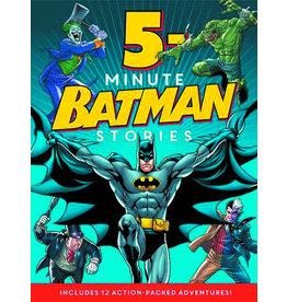 HARPER COLLINS PUBLISHERS BATMAN CLASSIC 5 MINUTE BATMAN STORIES HC