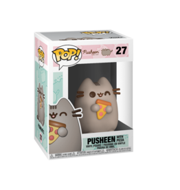 FUNKO POP PUSHEEN WITH PIZZA VINYL FIG
