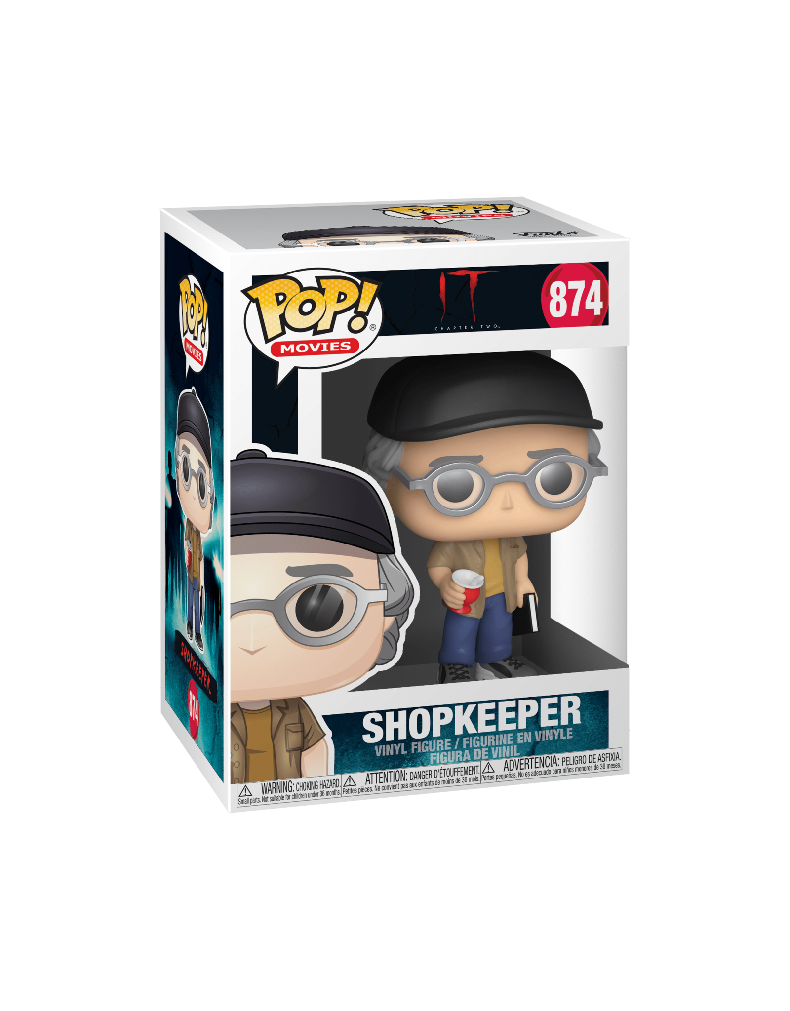 FUNKO POP MOVIES IT 2 SHOPKEEPER (STEPHEN KING)
