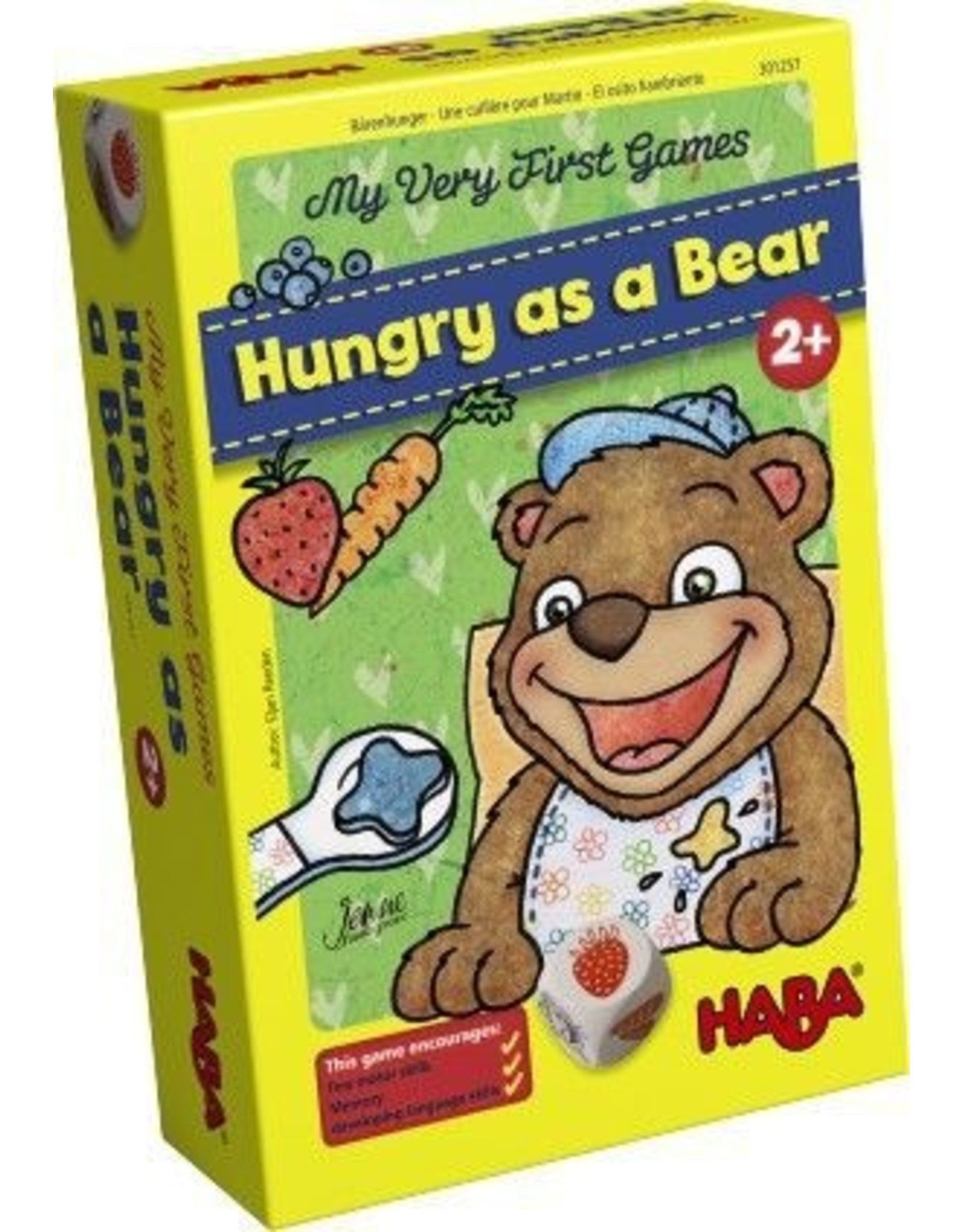 HABA GAMES MY VERY FIRST GAME HUNGRY AS A BEAR