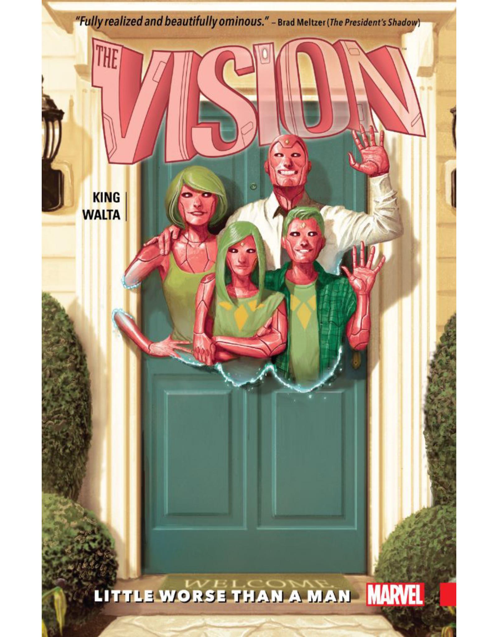 MARVEL COMICS VISION TP VOL 01 LITTLE WORSE THAN MAN