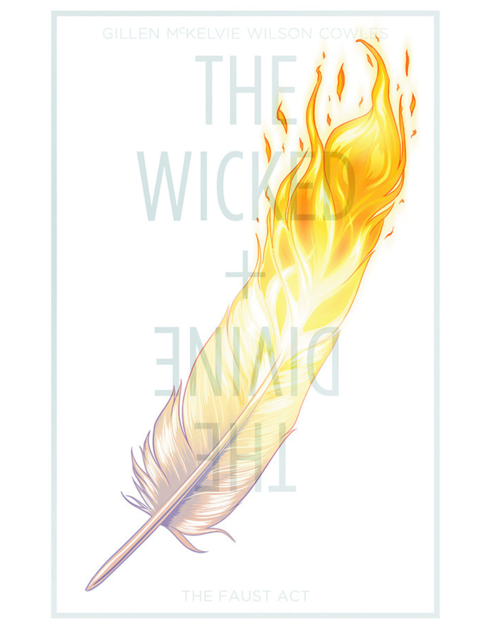 IMAGE COMICS WICKED & DIVINE TP VOL 01 THE FAUST ACT