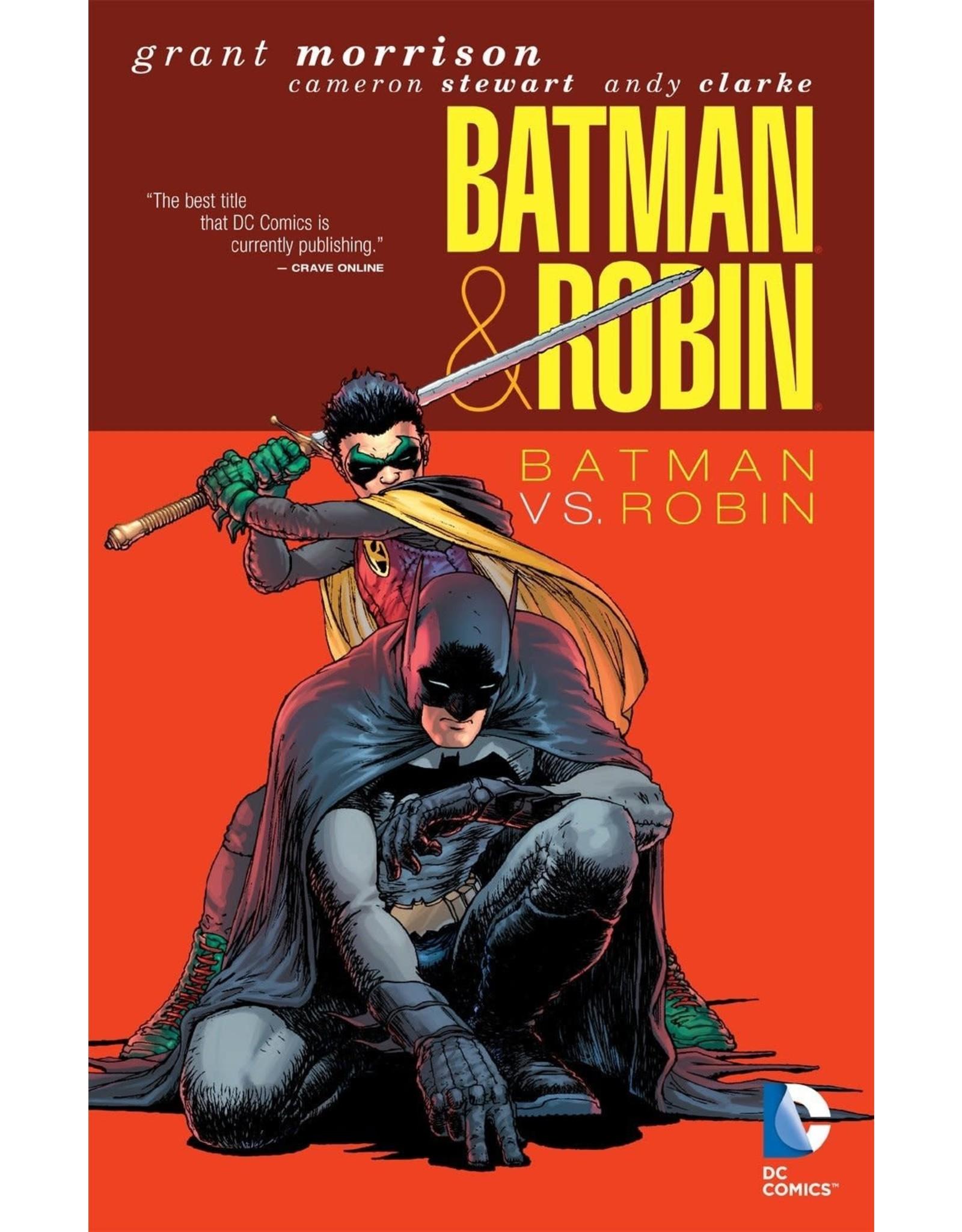 DC COMICS BATMAN AND ROBIN DELUXE HC VOL 02 BATMAN VS ROBIN