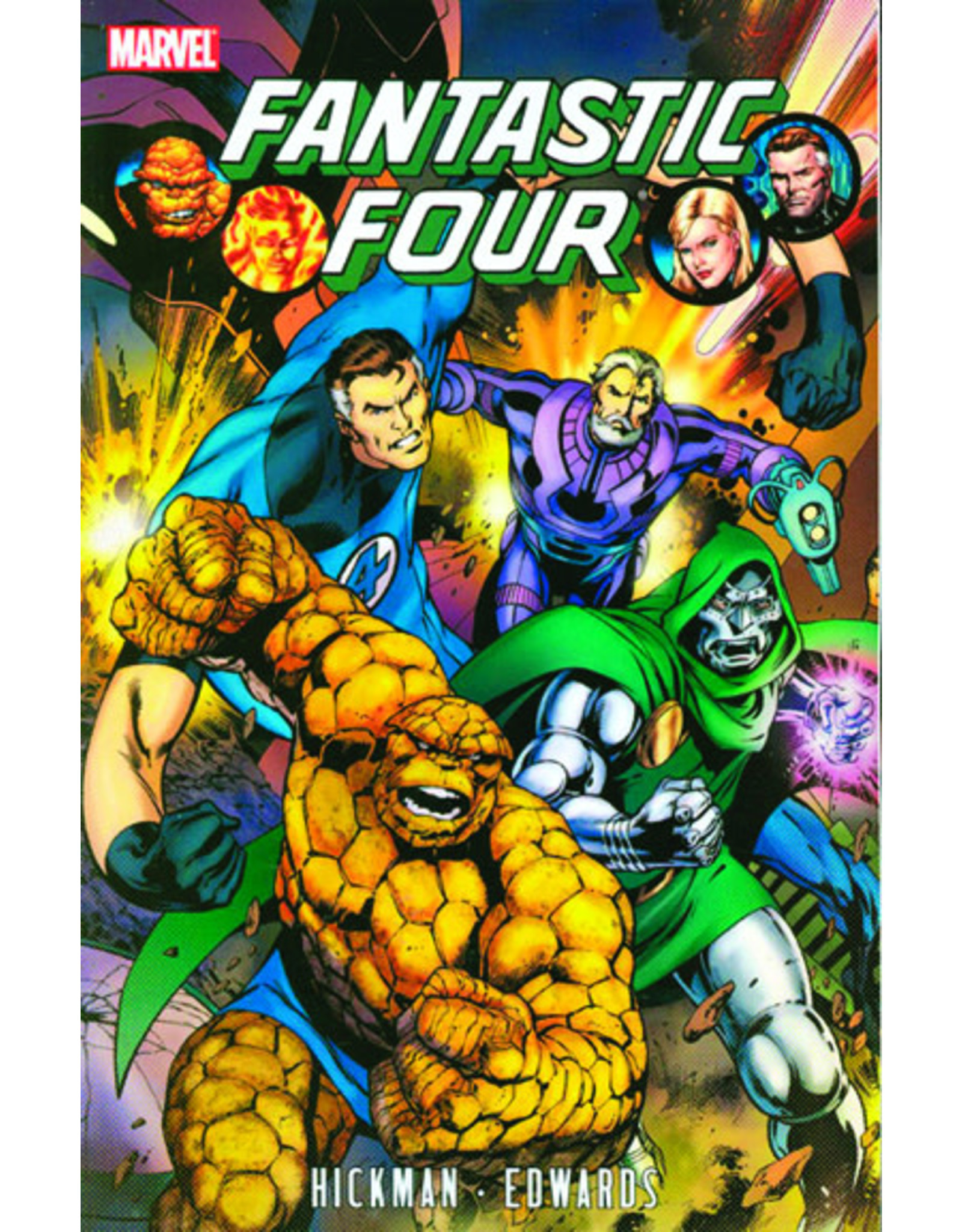 MARVEL COMICS FANTASTIC FOUR BY JONATHAN HICKMAN TP VOL 03