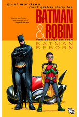 DC COMICS BATMAN AND ROBIN DELUXE HC VOL 01 BATMAN REBORN