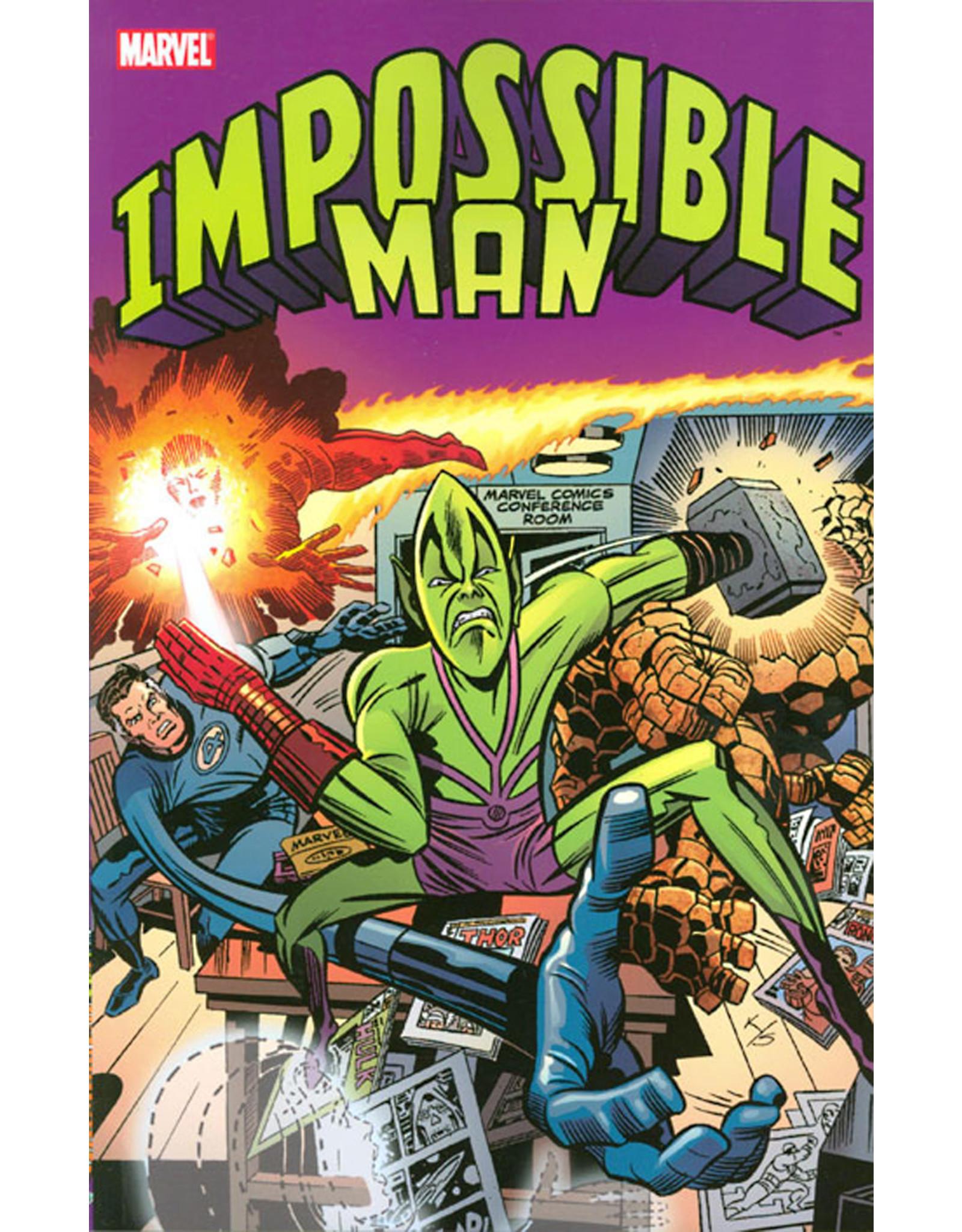MARVEL COMICS IMPOSSIBLE MAN TP