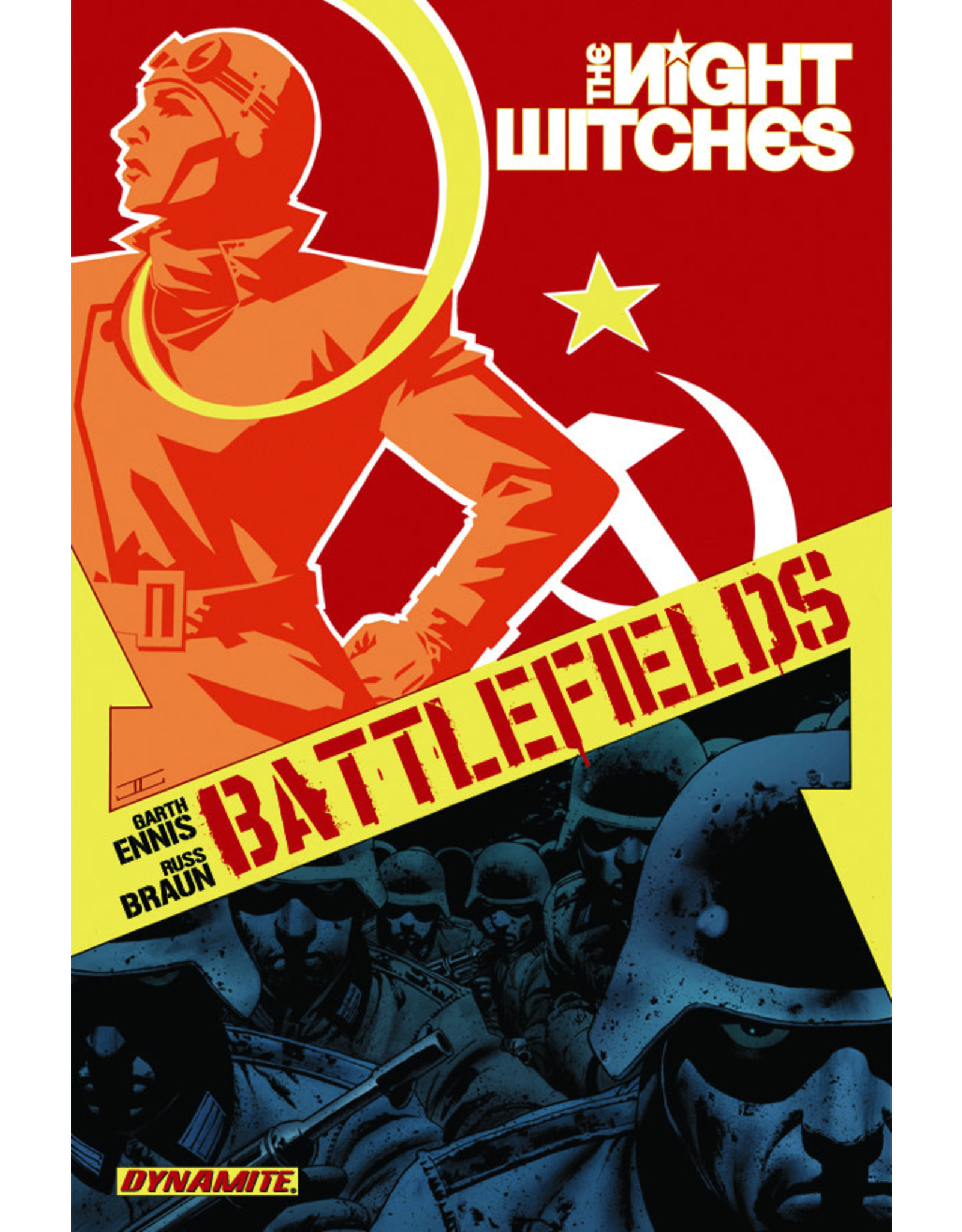 D. E. GARTH ENNIS BATTLEFIELDS TP VOL 01 NIGHT WITCHES
