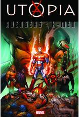 MARVEL COMICS AVENGERS X-MEN UTOPIA TP