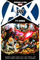 MARVEL COMICS AVENGERS VS X-MEN ITS COMING TP