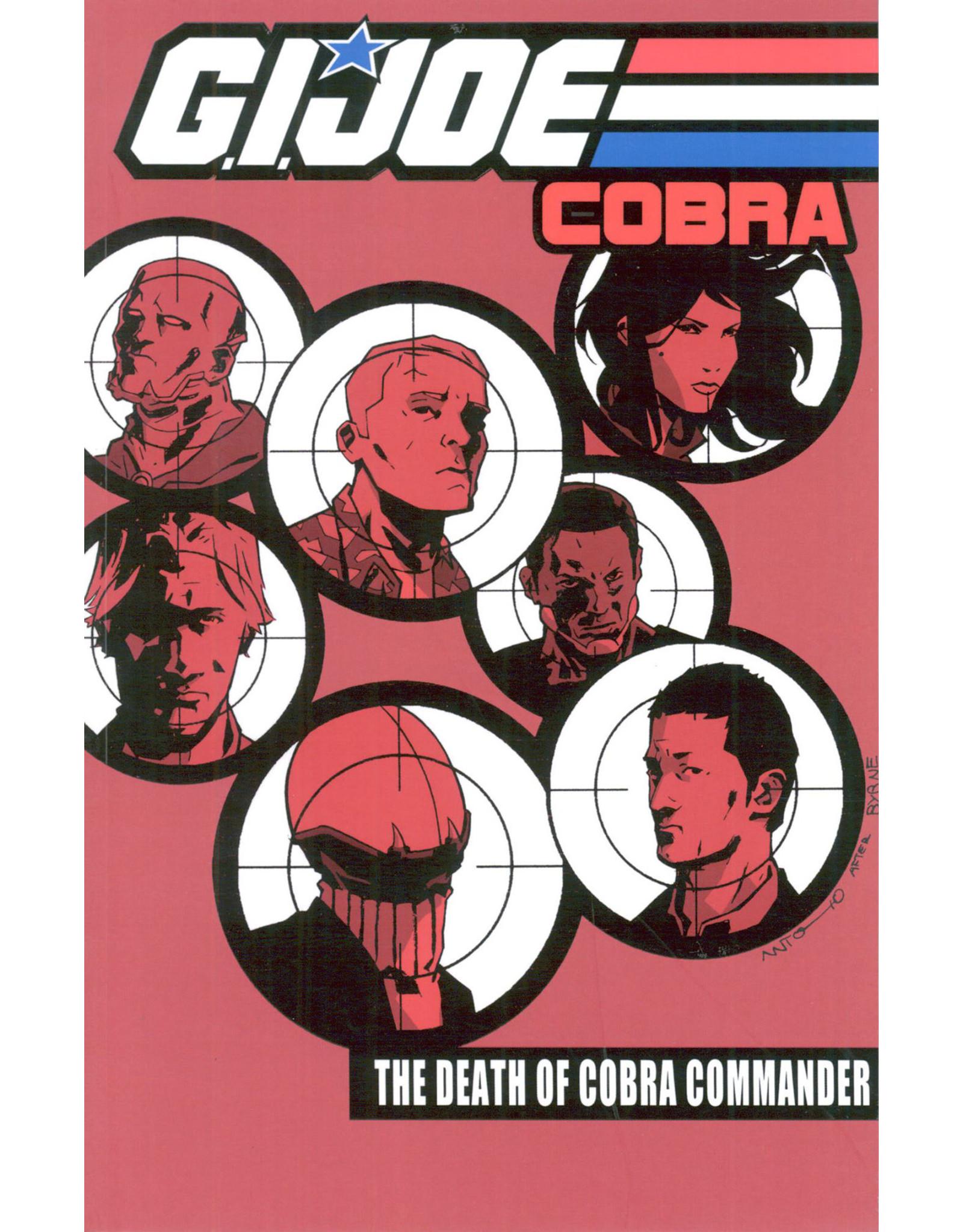 IDEA & DESIGN WORKS LLC GI JOE COBRA TP VOL 04 DEATH OF COBRA COMMANDER