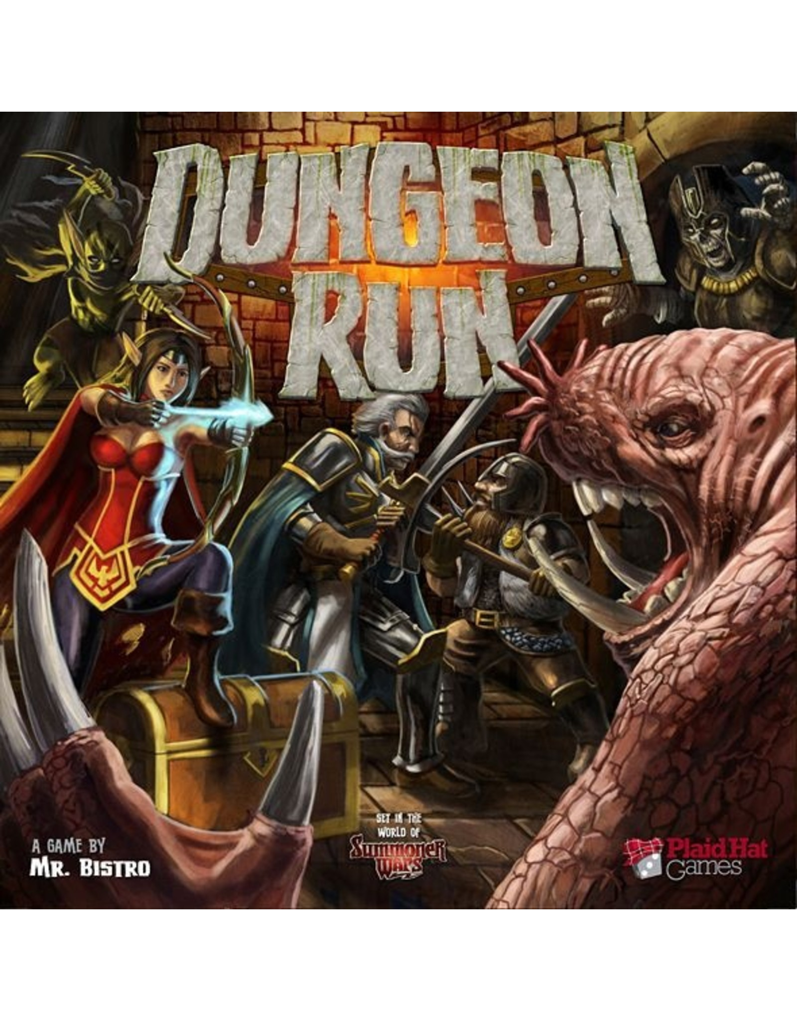 PLAID HAT GAMES DUNGEON RUN (OUT OF PRINT)