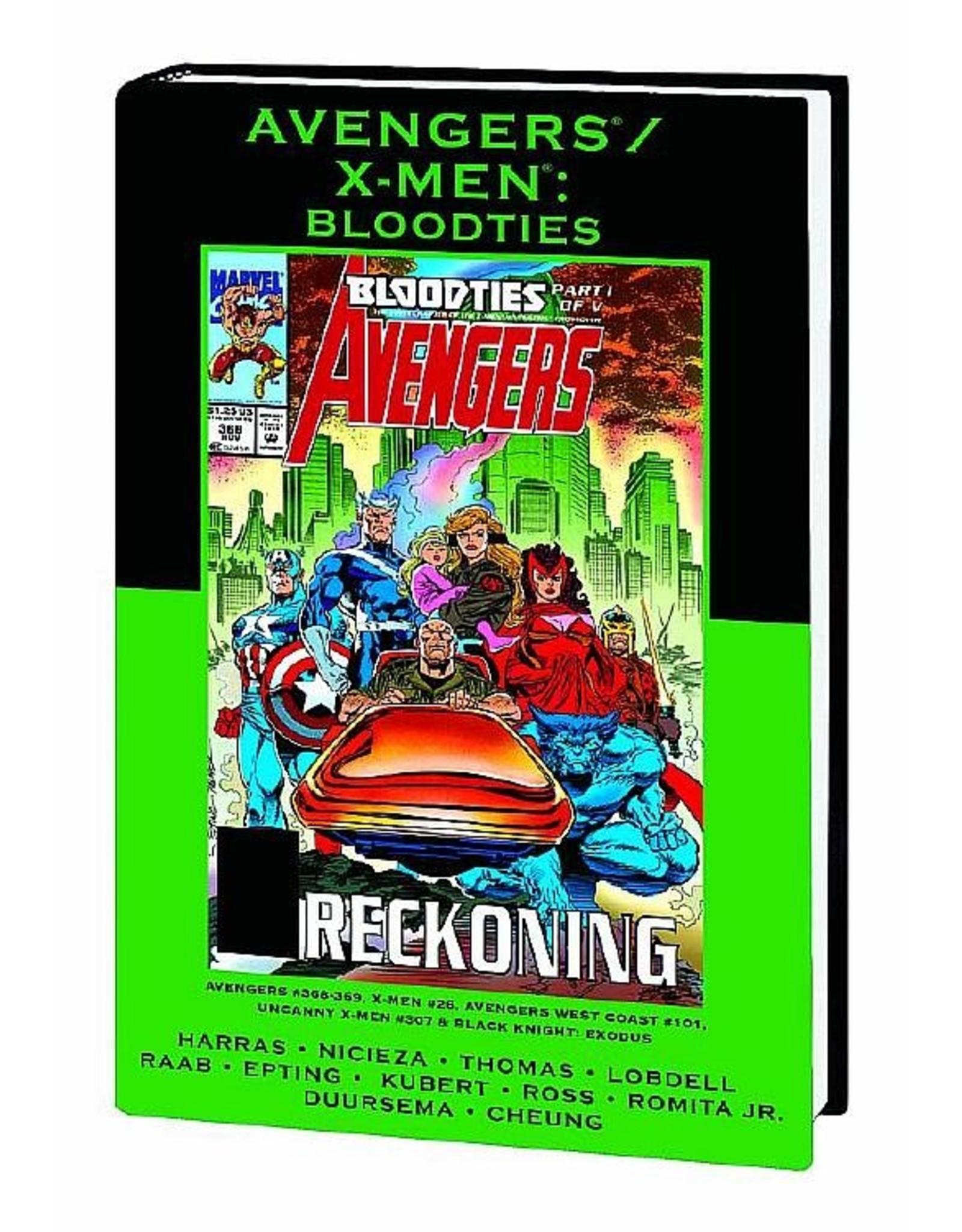 MARVEL COMICS AVENGERS X-MEN PREM HC BLOODTIES DM VAR ED 82 (OUT OF PRINT)