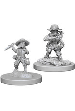 WIZKIDS DEEP CUTS PATHFINDER BATTLES MALE HALFING ROGUE UNPAINTED MINI