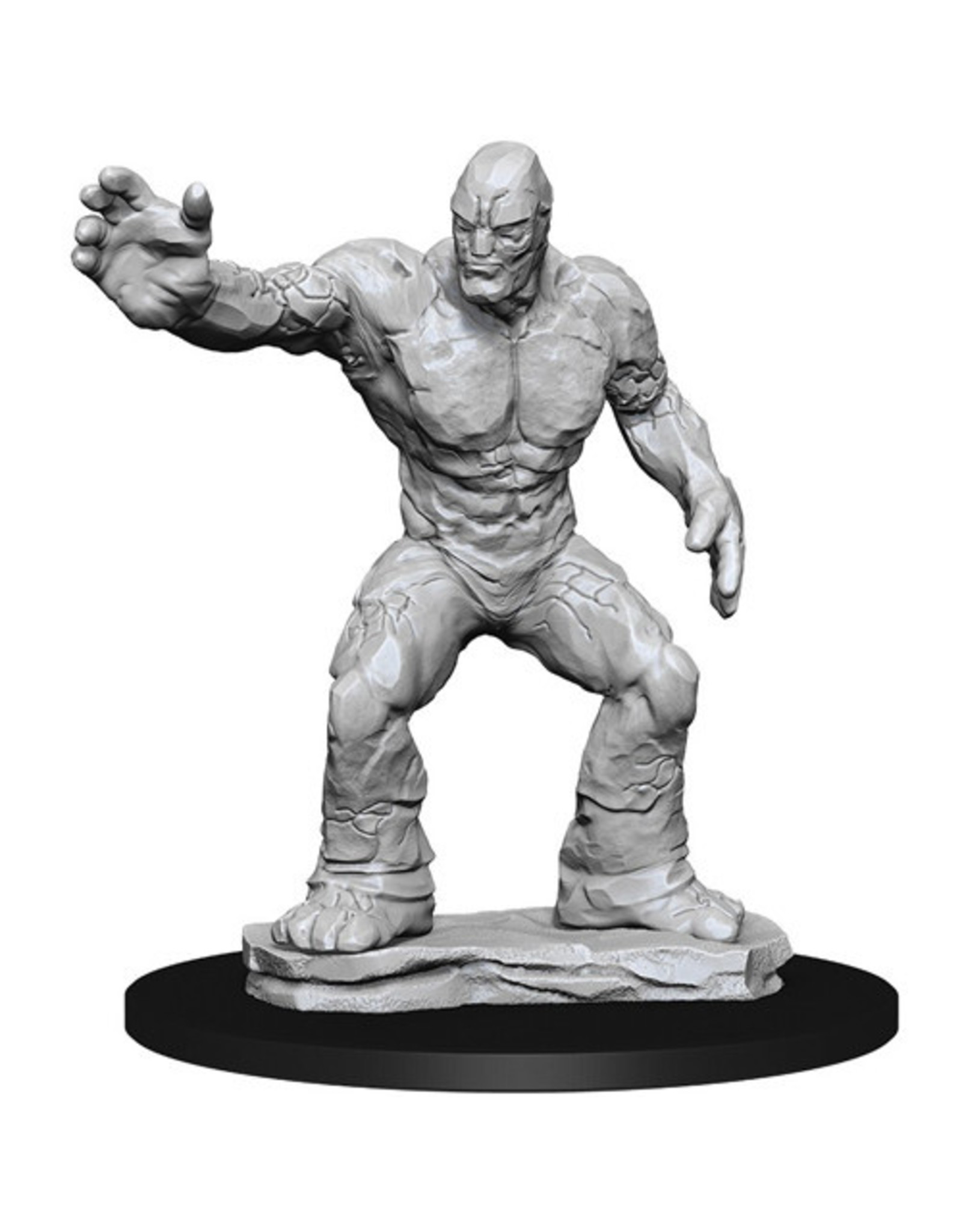 WIZKIDS D&D NOLZUR'S MARVELOUS CLAY GOLEM UNPAINTED MINI