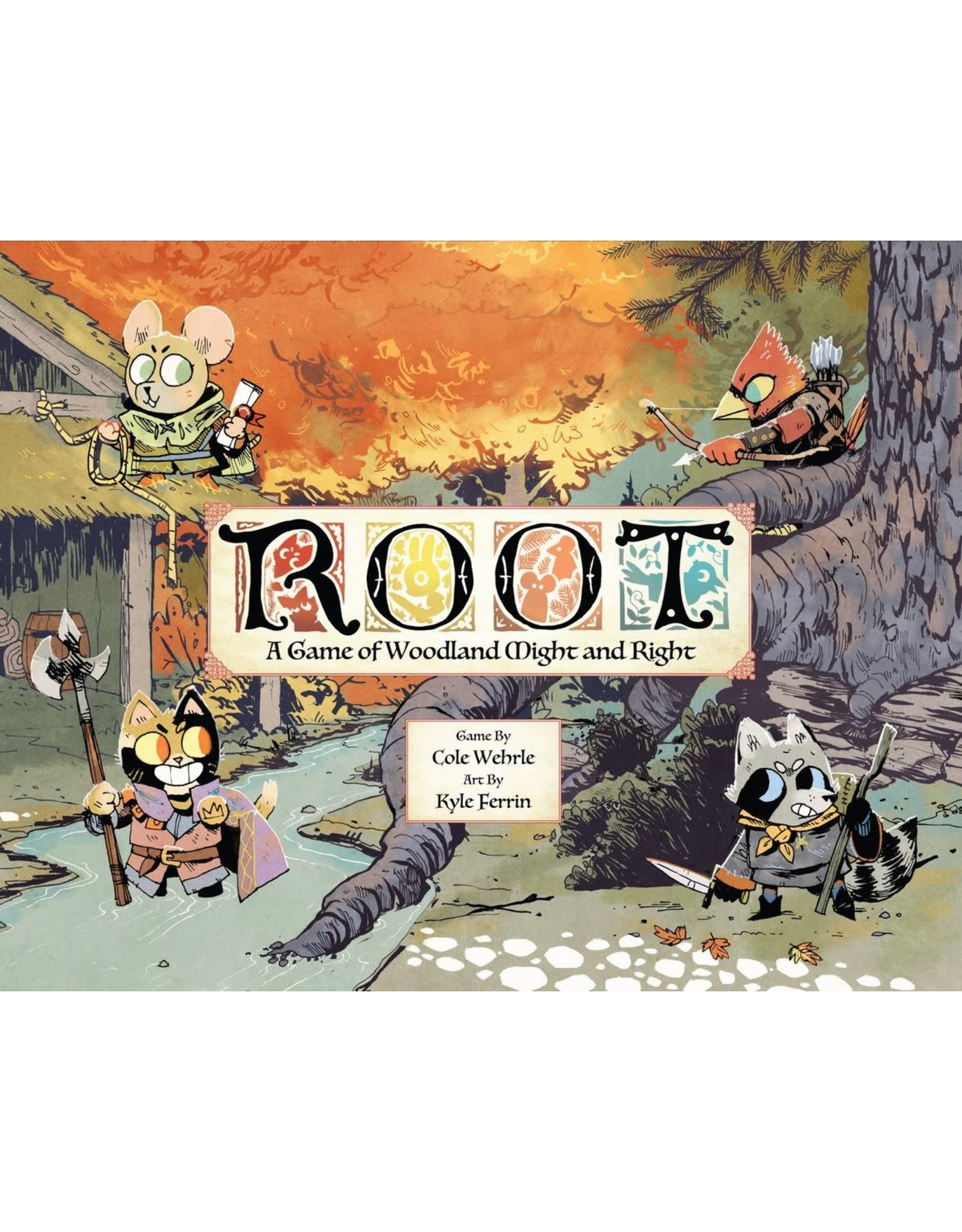 LEDER GAMES ROOT BOARD GAME