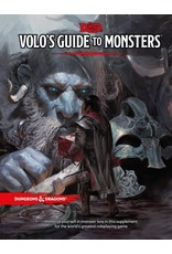 WIZARDS OF THE COAST DUNGEONS & DRAGONS 5TH EDITION/NEXT VOLOS GUIDE TO MONSTERS LE