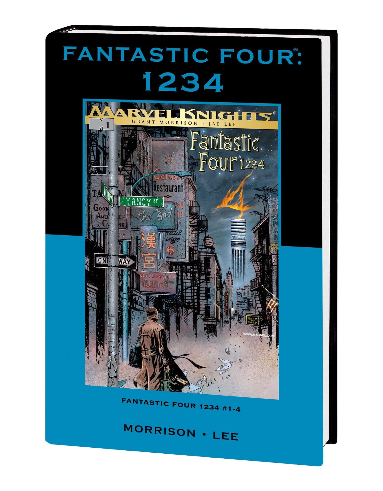 MARVEL COMICS FANTASTIC FOUR 1234 PREM HC DM VAR ED 77 (OUT OF PRINT, SEALED)