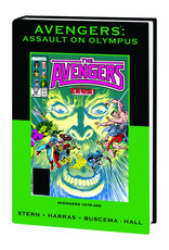 MARVEL COMICS AVENGERS ASSAULT ON OLYMPUS PREM HC DM VAR ED 74