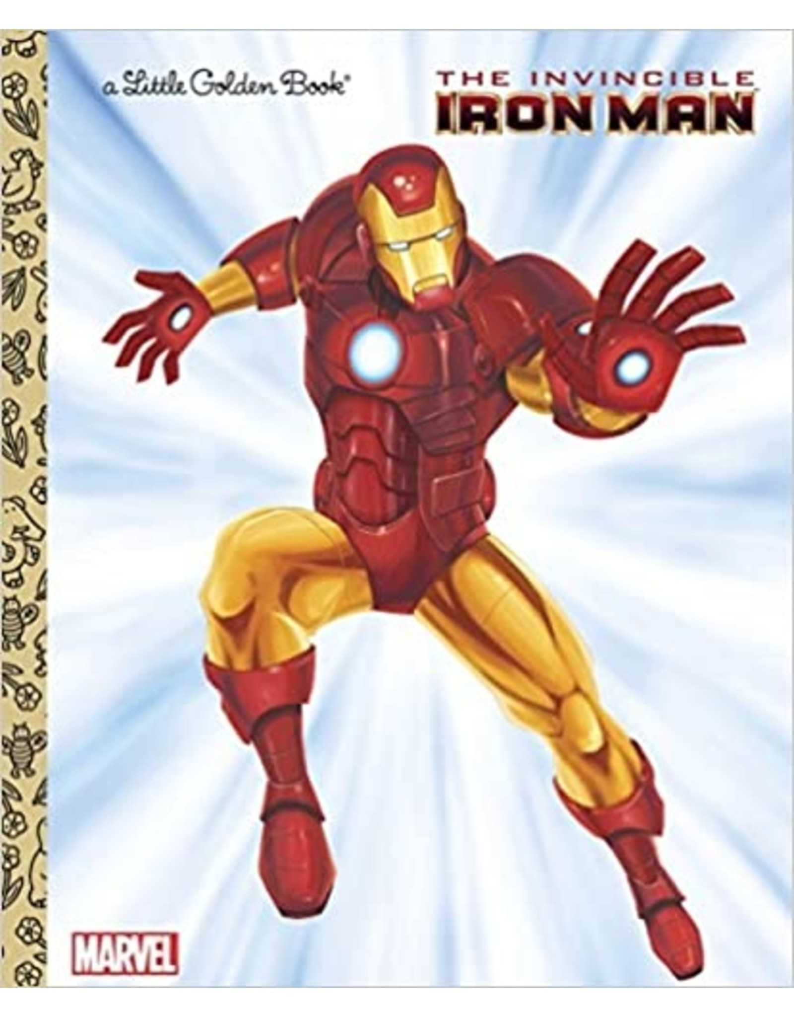 THE INVINCIBLE IRON MAN (MARVEL) LITTLE GOLDEN BOOK