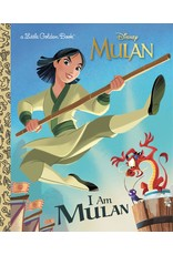 GOLDEN BOOKS I AM MULAN LITTLE GOLDEN BOOK