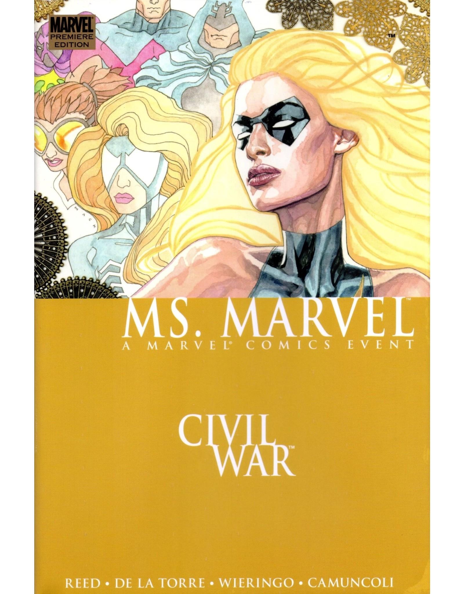 MARVEL COMICS MS MARVEL PREMIERE HC 2 CIVIL WAR