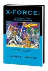 MARVEL COMICS X-FORCE PREM HC FORCE TO BE RECKONED WITH DM VAR ED