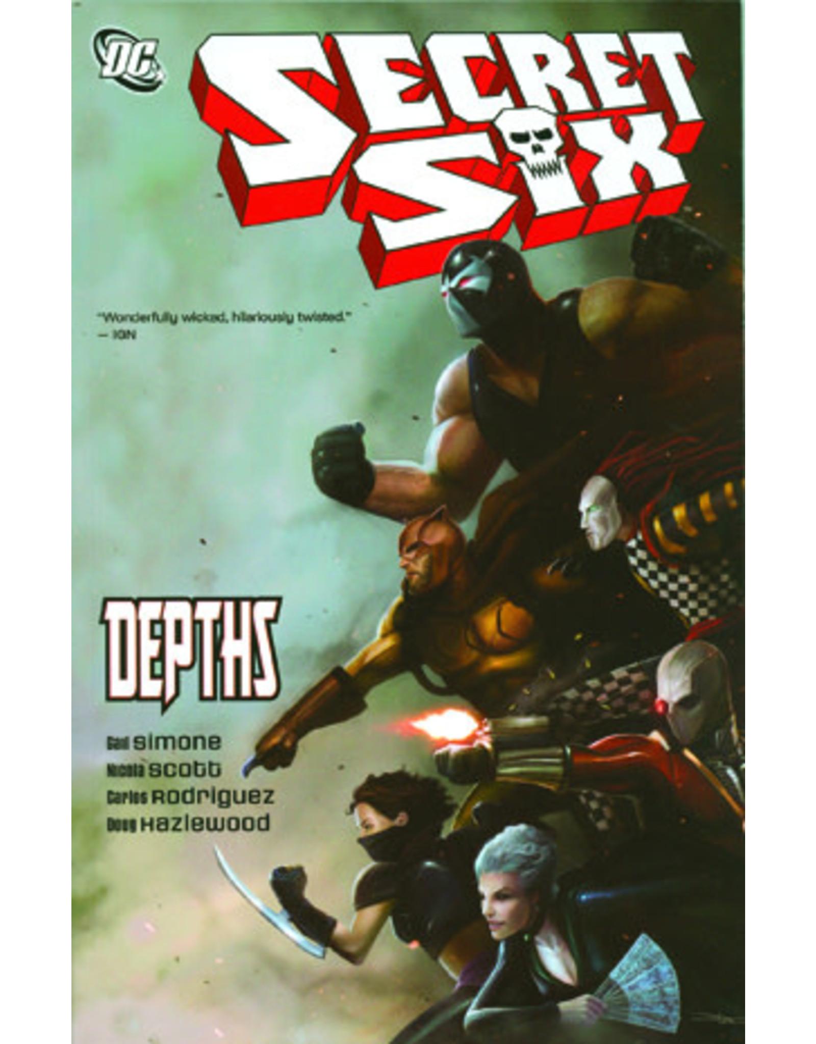 DC COMICS SECRET SIX VOL 02 DEPTHS TP