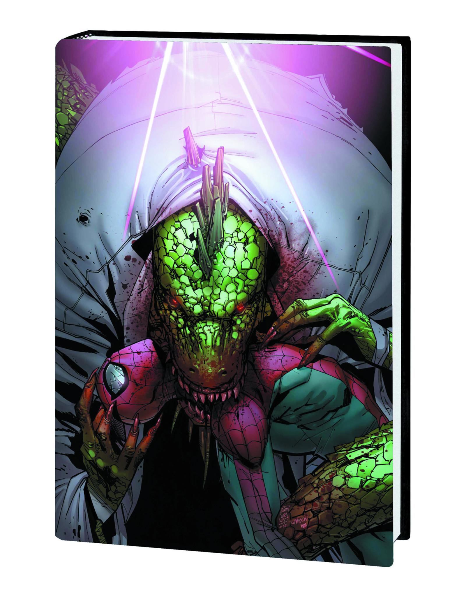MARVEL COMICS SPIDER-MAN LIZARD PREM HC NO TURNING BACK