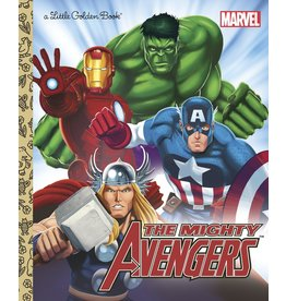 Penguin Random House THE MIGHTY AVENGERS (MARVEL) LITTLE GOLDEN BOOK
